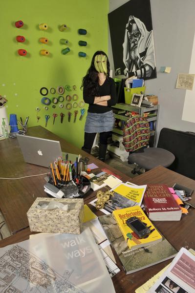 La Mancha with Rebbe in MFA Studio